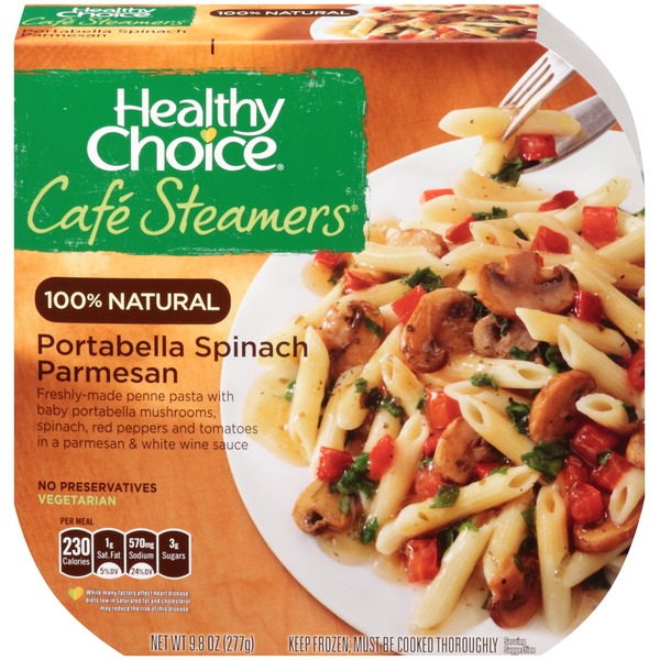Healthy Choice Portabella Spinach Parmesan Cafe Steamers