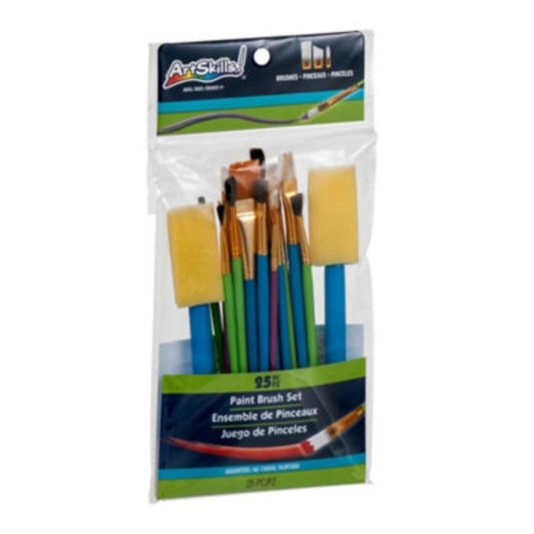 Loew Cornell Simply Art Brush Value Pack - 25 CT