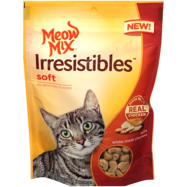 Meow Mix Irresistibles Soft Chicken Cat Treats