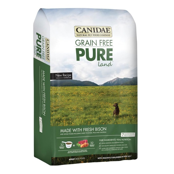 Canidae Grain Free Pure Land Made With Fresh Bison Adult Dog Food