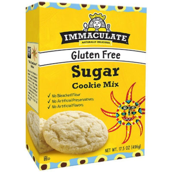 Immaculate Bakery Gluten Free Sugar Cookie Mix