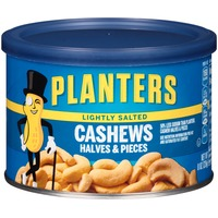 Planters Halves & Pieces Lightly Salted Cashews