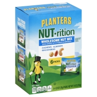 Planters NUT-rition Multi Pack Wholesome Nut Mix - 6