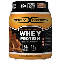 Body Fortress Super Advanced Whey Protein Chocolate Peanut Butter, 2 LB