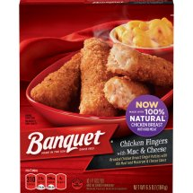 Banquet Chicken Fingers with Mac & Cheese, 6.5 Ounce