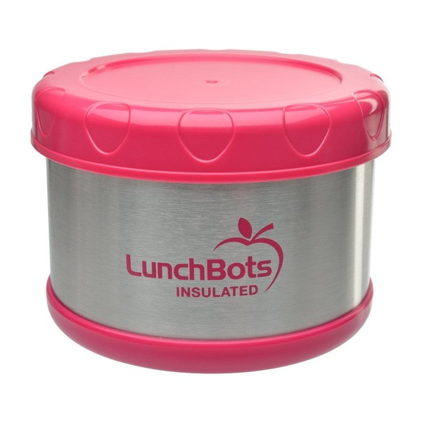 Lunchbots Thermal Container Pink