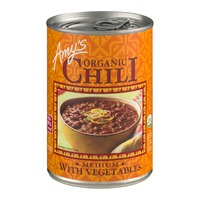 Amy's Organic Chili With Vegetables Medium