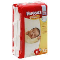 Huggies Little Snugglers Newborn Diapers (Up to 10 lb)