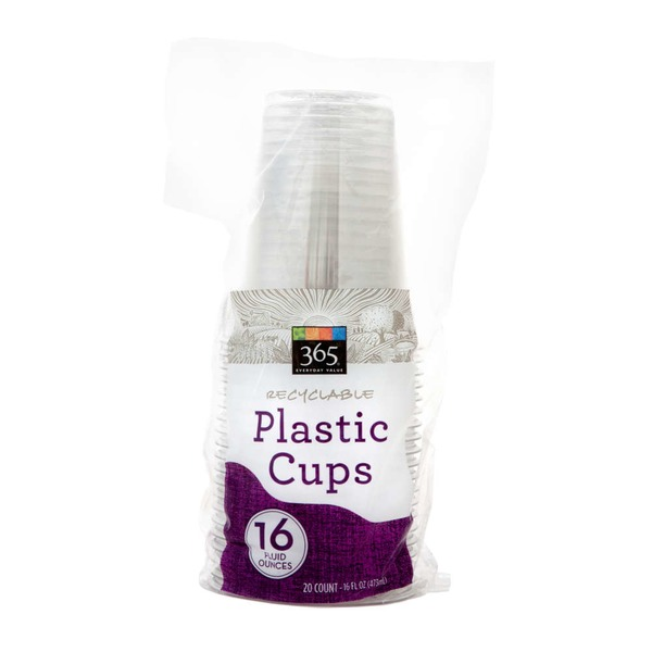 365 Recyclable Plastic Cups 9 fl oz