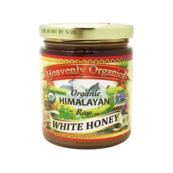 Heavenly Organics 100% Organic Raw White Honey