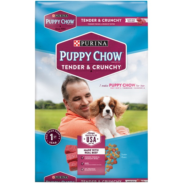 Puppy Chow Tender & Crunchy Puppy Food