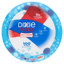 Dixie Ultra Paper Plates, 10 1/16', 100ct