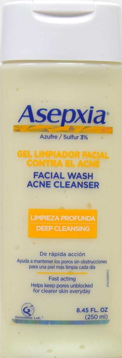 Asepxia Facial Wash Acne Cleanser 8.45 oz