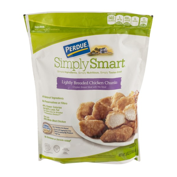 Perdue Simply Smart Lightly Breaded Chicken Chunks