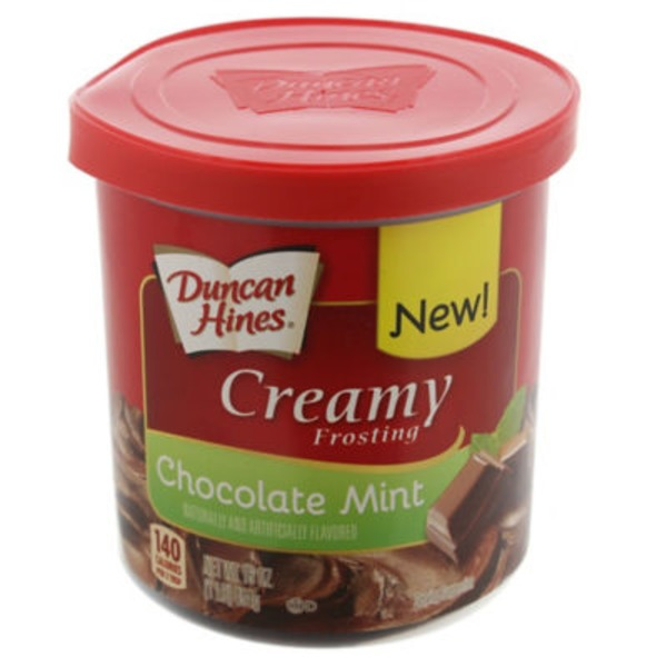 Duncan Hines Chocolate Mint Creamy Frosting