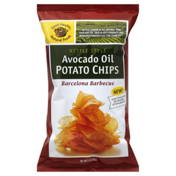 Good Health Avocado Oil Kettle Style Chips Barbecue