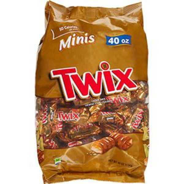 Twix Minis Cookie Bars