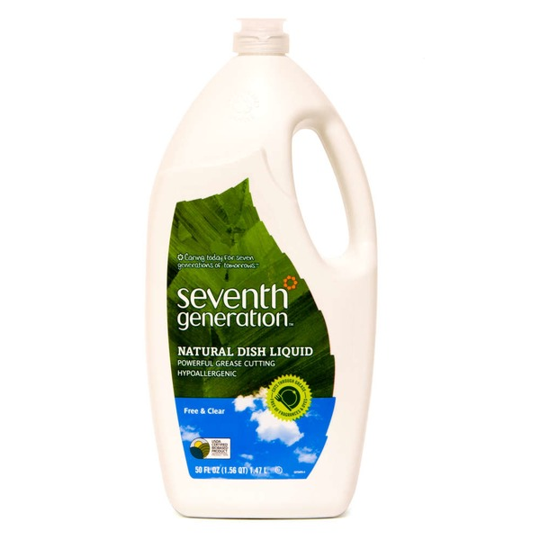 Seventh Generation Free & Clear Natural Dish Liquid