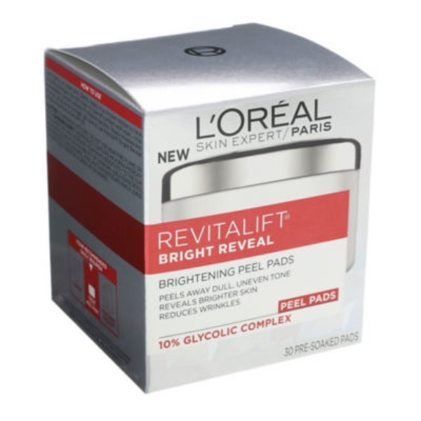 Revitalift Bright Reveal Brightening Peel Pads
