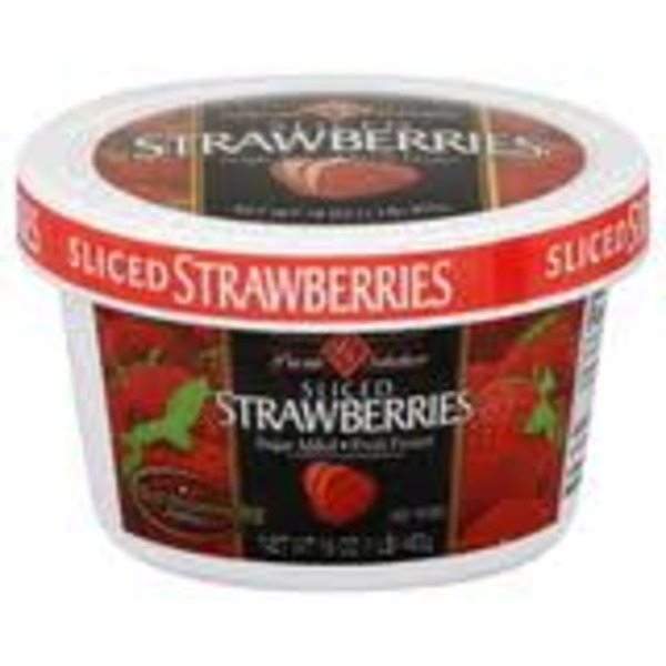 Private Strawberries Sliced