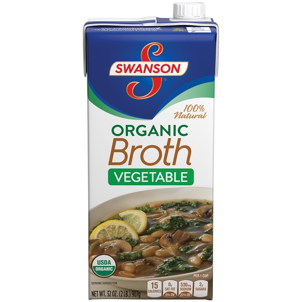 Swanson's Organic Vegetable Broth