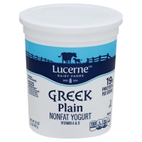 Lucerne Greek Yogurt Nonfat Plain