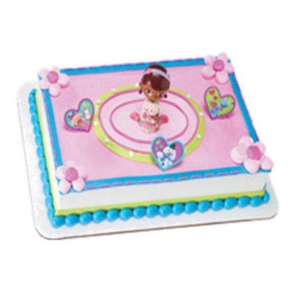 Doc Mc Stuffins Cake Cake, serves up to 96