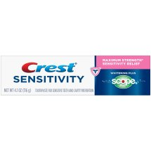 Crest® Sensitivity Whitening Plus Scope® Toothpaste 4.1 oz. Box