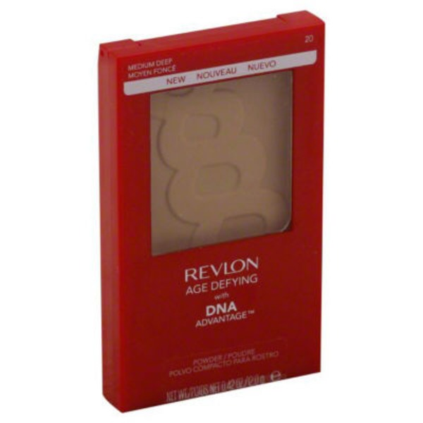 Revlon Powder, Medium Deep 20, Age Defying, Not Packed