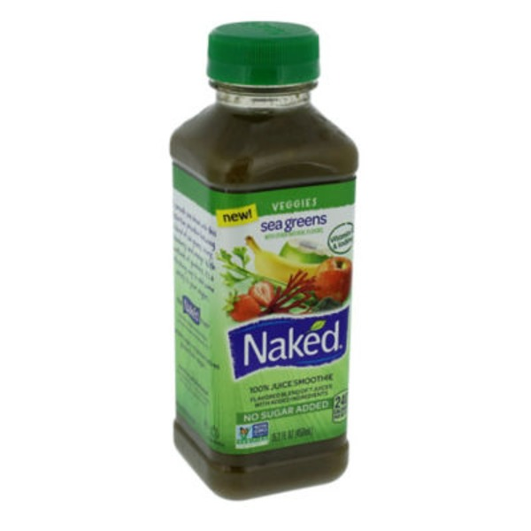 Naked Juice Sea Greens 100% Juice Smoothie