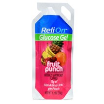 ReliOn Fruit Punch Glucose Gel, 1.2 Oz
