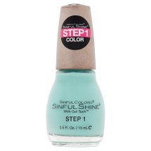 SinfulColors SinfulShine Step 1 Color Nail Color, Rendezvous, 0.5 fl oz