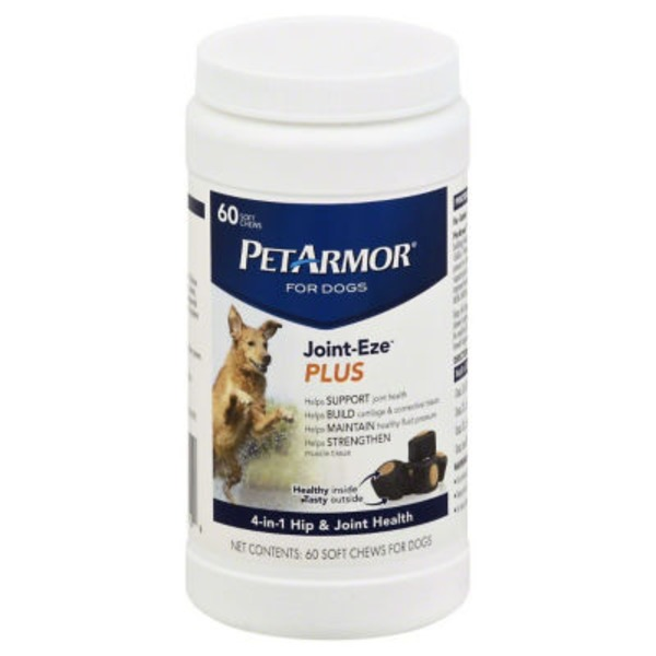 PetArmor Joint-Eze Plus Dog Chews - 60 CT