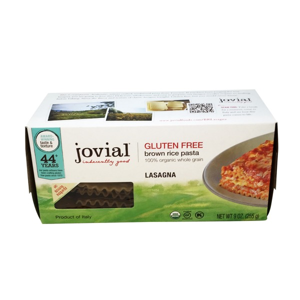 Jovial Brown Rice Lasagna Pasta