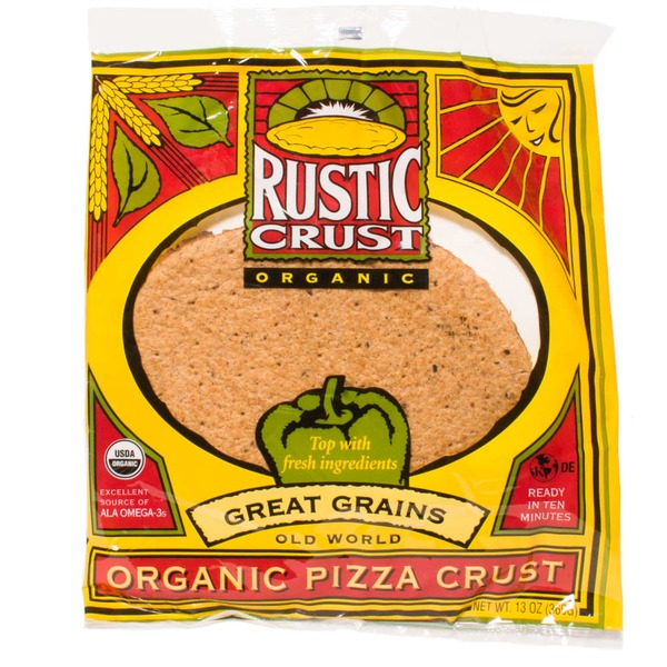 Rustic Crust Old World Flatbreads Great Grains Pizza Crust Organic