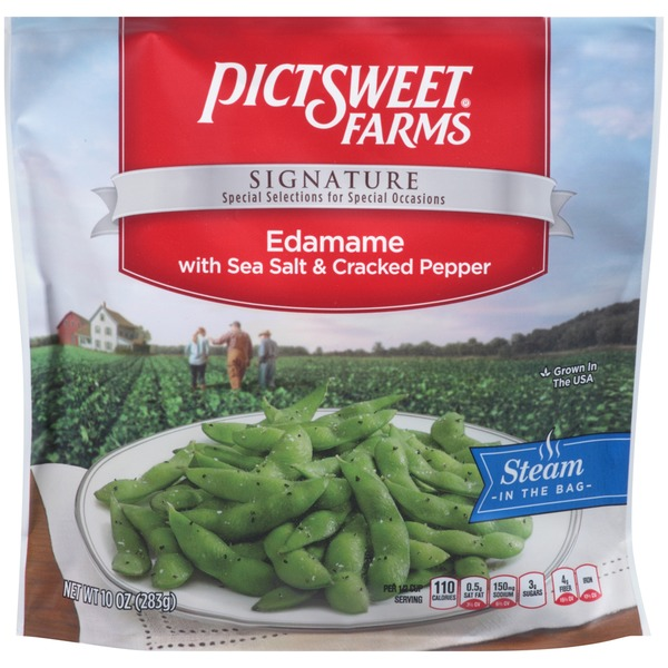 Pictsweet Farms Signature with Sea Salt & Cracked Pepper Edamame
