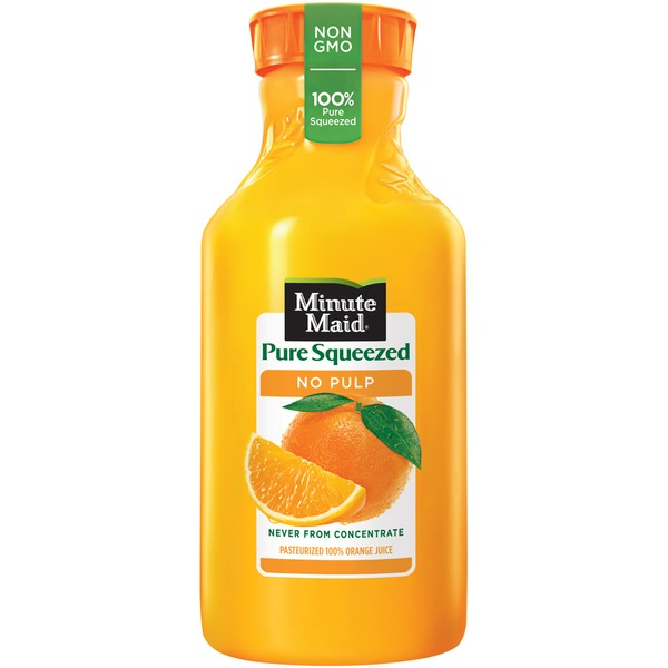 Minute Maid Pure Squeezed No Pulp Orange Juice