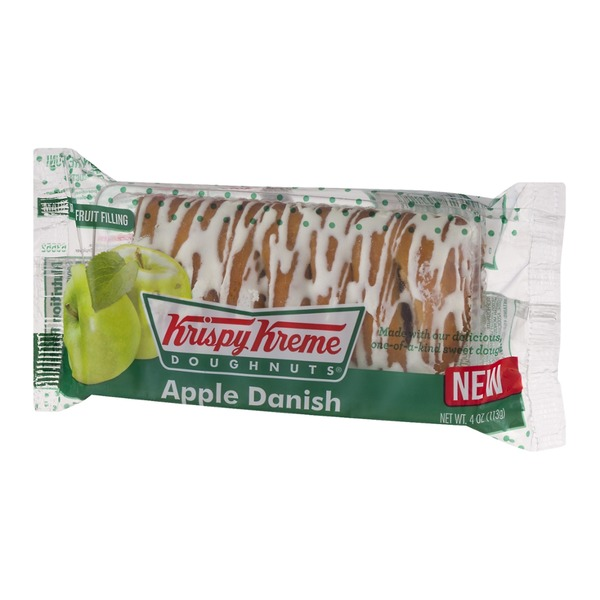 Krispy Kreme Doughnuts Apple Danish