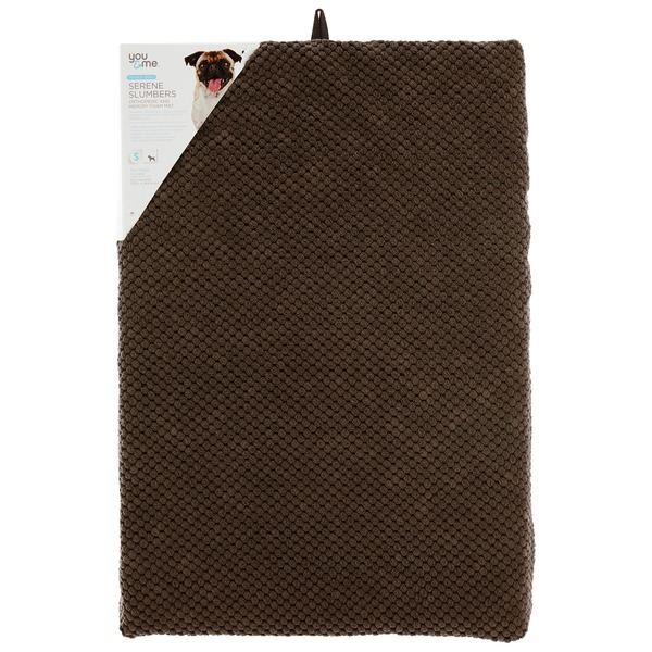You & Me Supreme Slumbers Brown Orthopedic & Memory Foam Mat 21