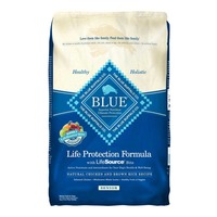 Blue Buffalo Dog Food, Dry, Chicken & Brown Rice, Life Protection, Adult, Bag