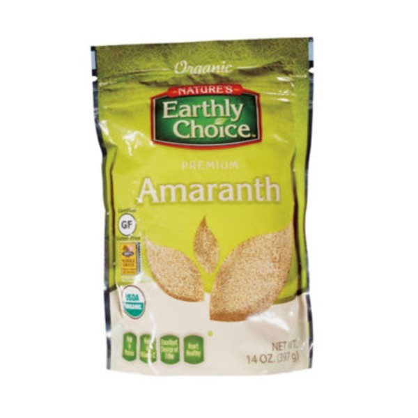 Nature's Earthly Choice Organic Premium Amaranth