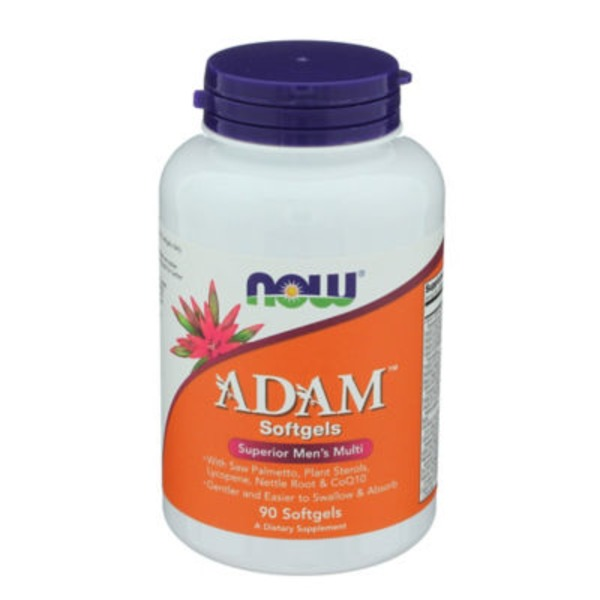 Now Adam Men's Multi Softgels