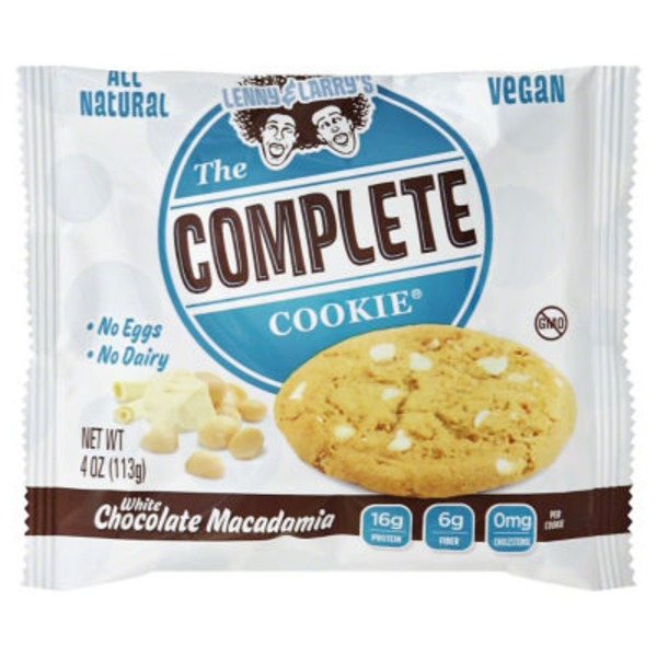 Lenny & Larry's The Complete Cookie White Chocolate Macadamia