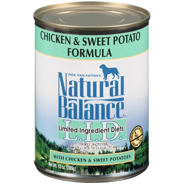 Natural Balance Limited Ingredient Diets Chicken & Sweet Potato Formula Dog Food