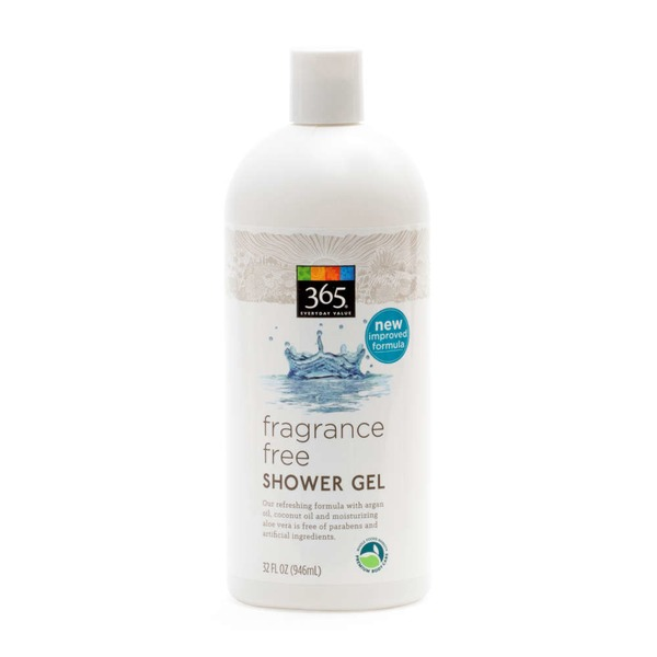 365 Fragrance Free Shower Gel