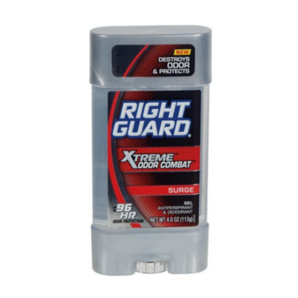 Right Guard Xtreme Odor Combat Surge Clear Gel Deodorant