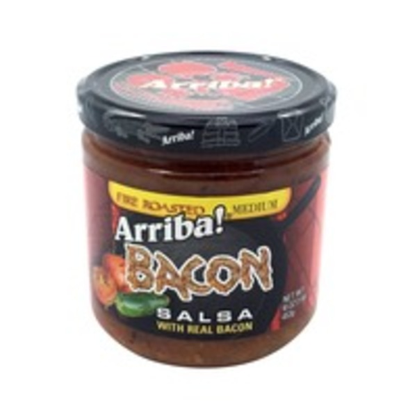 Arriba! Bacon Fire Roasted Salsa Medium