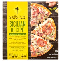 California Pizza Kitchen Crispy Thin Crust Pizza Sicilian Recipe, 15.5 OZ