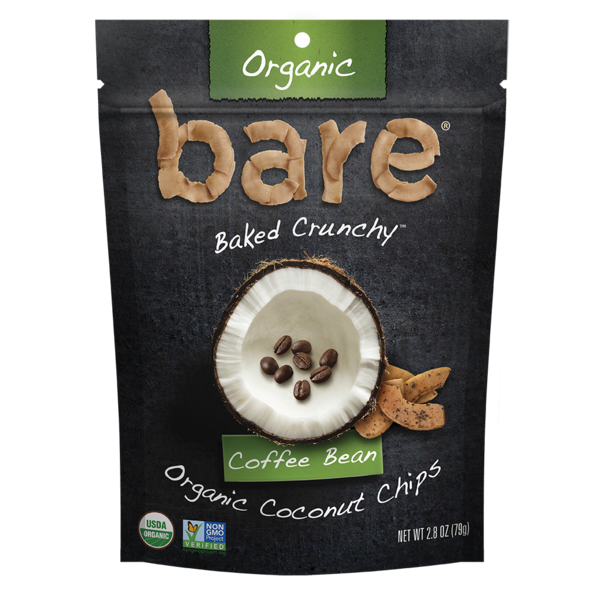 Bare Organic Coffee Bean Coconut Chips