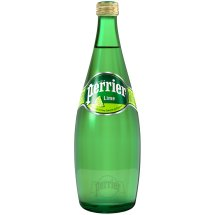 Perrier Sparkling Natural Lime Mineral Water, 25.3 fl oz